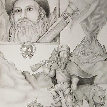 Dwarf Hunter by artCEW