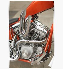 red chopper Poster