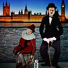 David Cameron and Nick Clegg Comedy Duo  by Smudgers Art
