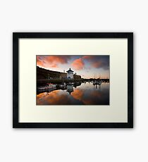 Whitehaven Harbour Framed Print