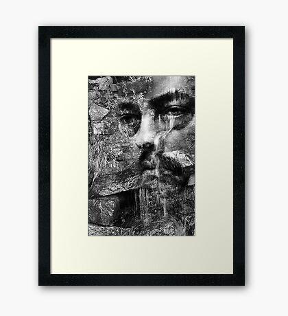 Every Teardrop Is A Waterfall Framed Print