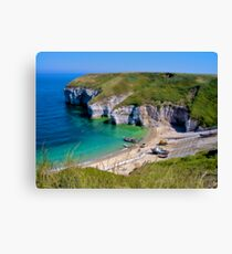 Flamborough, North Landing, Yorkshire Canvas Print