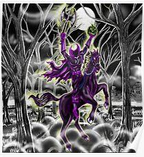 """Return Of Hollow's Horseman"" Poster"