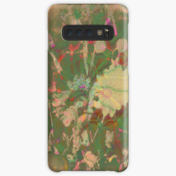 Fractalized floral abstraction Samsung Galaxy Snap Case