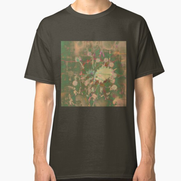 Fractalized floral abstraction Classic T-Shirt