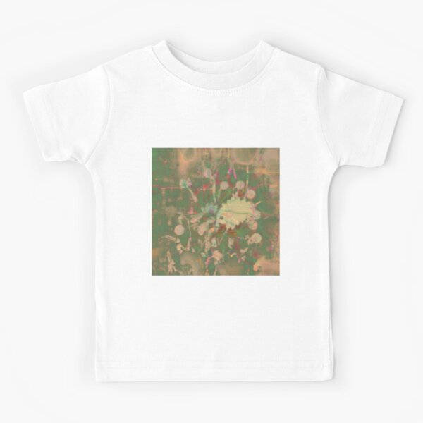 Fractalized floral abstraction Kids T-Shirt