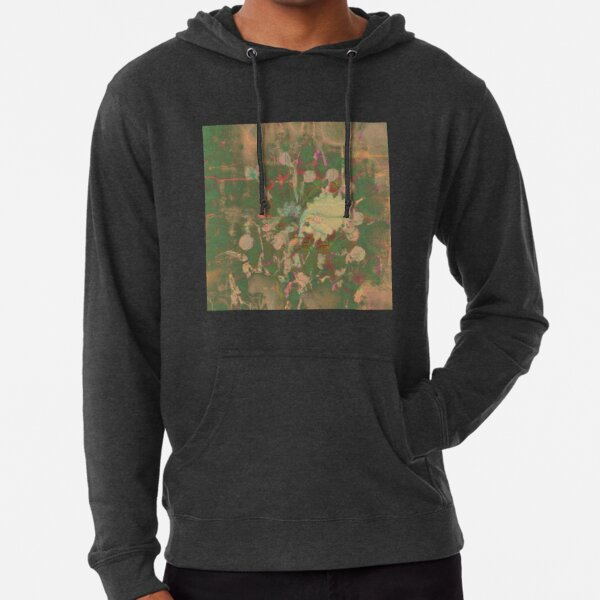 Fractalized floral abstraction Lightweight Hoodie