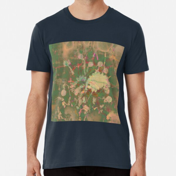 Fractalized floral abstraction Premium T-Shirt