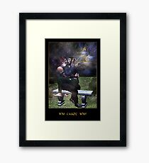 Who Caught Who? Framed Print