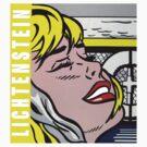 Lichtenstein tribute by geotasi