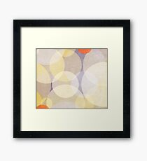 Cool Geometry - Abstract Print Framed Print