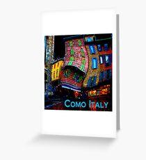 Wacky Como, Italy Greeting Card