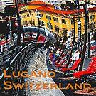 Wacky Lugano, Switzerland by Ginny Luttrell