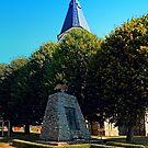 The war memorial of Eggendorf im Traunkreis by Patrick Jobst