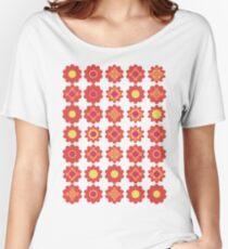 Flower T-shirt Women's Relaxed Fit T-Shirt