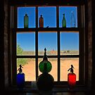 Bottles and Glass by Richard  Windeyer