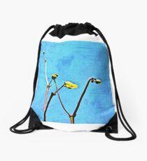 deep and wide Drawstring Bag