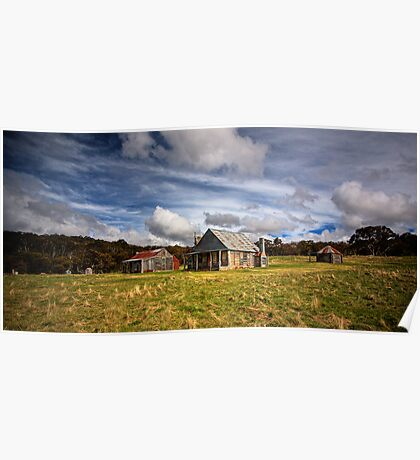 Coolamine Homestead, Kosciuszko National Park Poster