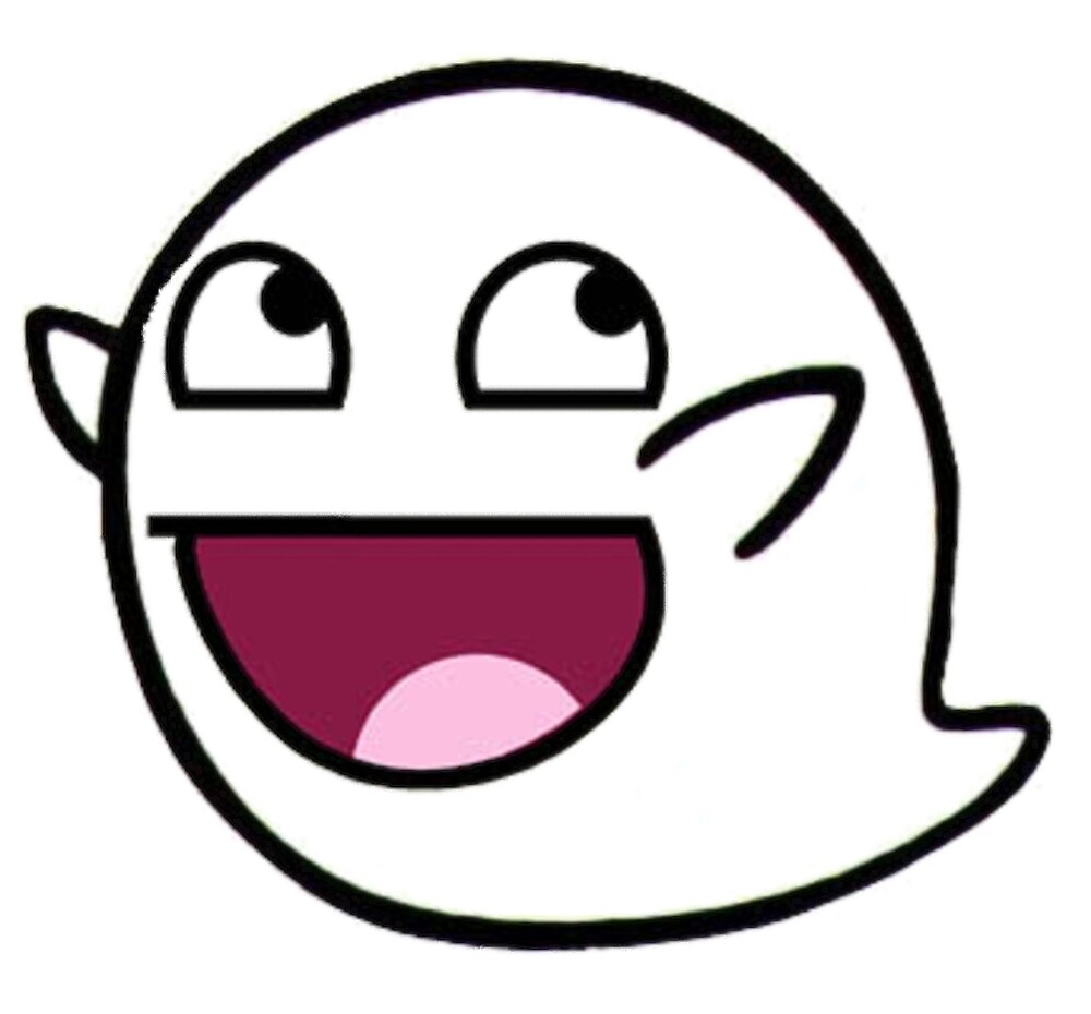 Awesome Face Epic Smiley BOO by IceKonG