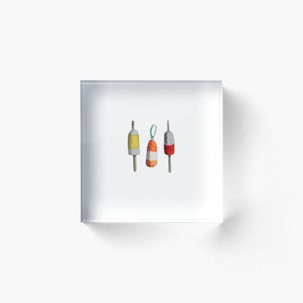 Buoys - Over Heart Acrylic Block