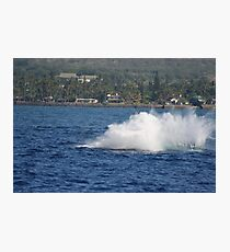 Humpback Breach 3 of 3 Photographic Print