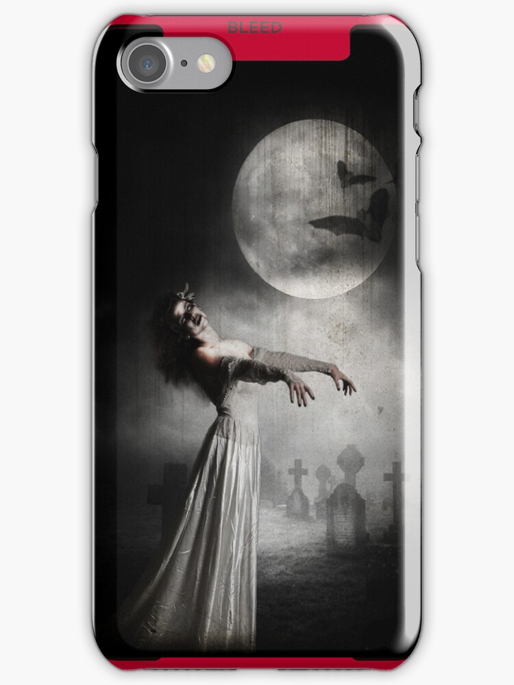 The Dead will Walk the earth -  iPhone Case by Monsterkidd