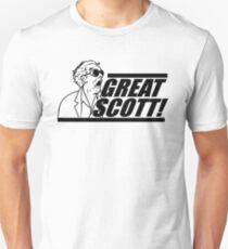 Doc E. Brown Großer Scott Unisex T-Shirt