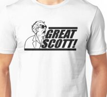 Doc E. Brown Great Scott Unisex T-Shirt