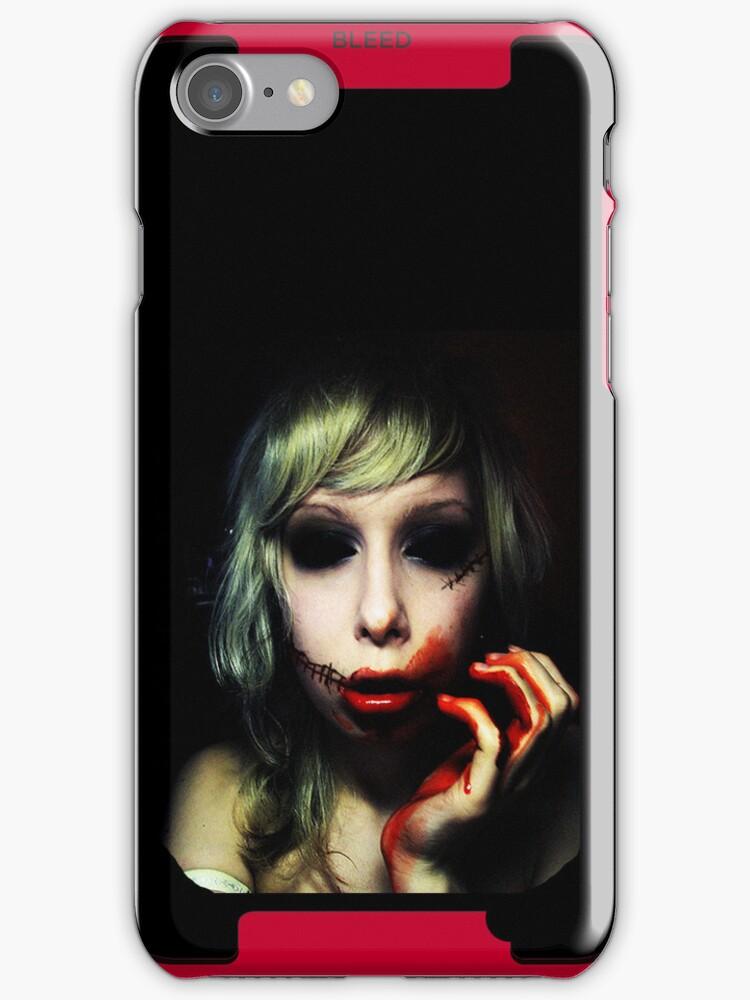 Sanguine iPhone Case by Monsterkidd