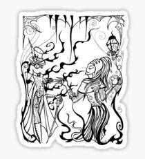 Invisible Waltz Sticker