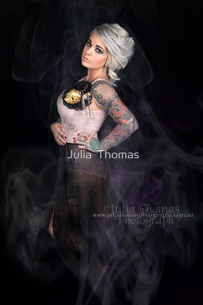 Skull and Smoke by Julia  Thomas