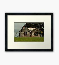 House on the Hill Framed Print
