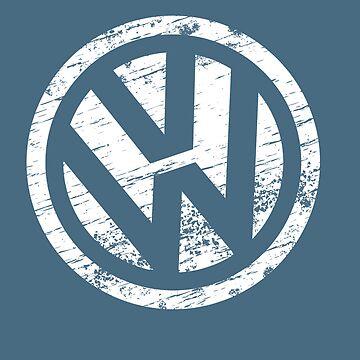VW Volkswagen Logo by 07091974