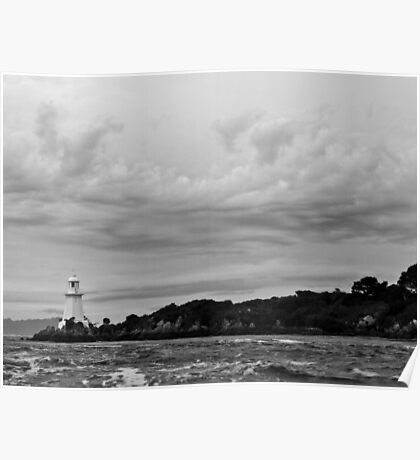The Lighthouse at HELLS GATE - Tasmania Poster