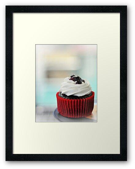 choc mud cupcake by Karen E Camilleri