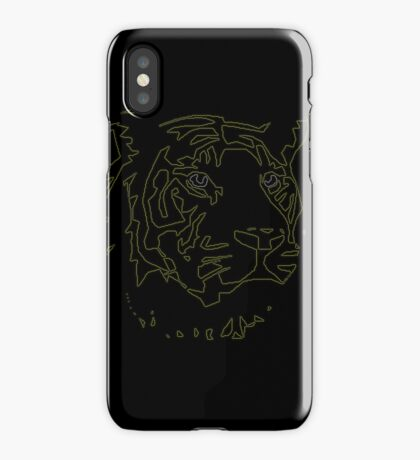 Tiger Tron iPhone Case
