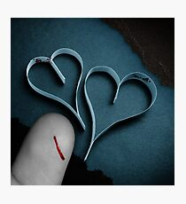 Just A Papercut Photographic Print