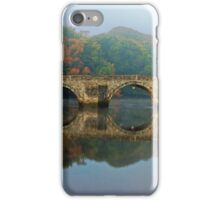 A Misty Morning In Cardigan iPhone Case/Skin