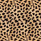 Cheetah hide - small pattern by KRDesign