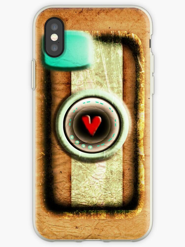 Camera cute iphone case by rupydetequila