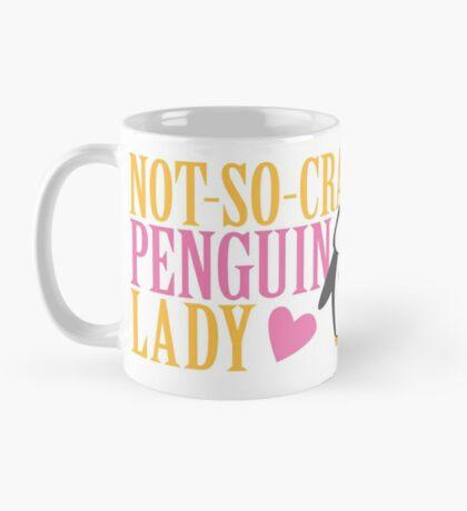 NO-SO-CRAZY penguin LADY Mug