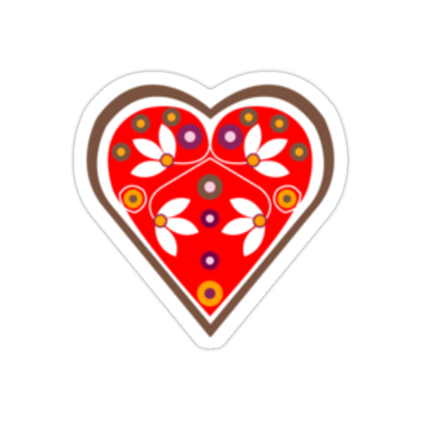 Folk Heart 1 by venitakidwai1