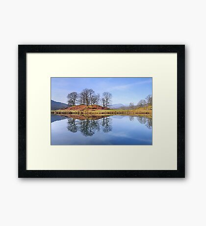 River Brathay Reflections, The Lake District, Cumbria Framed Print