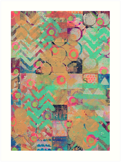 Collage Pattern by cesstrelle