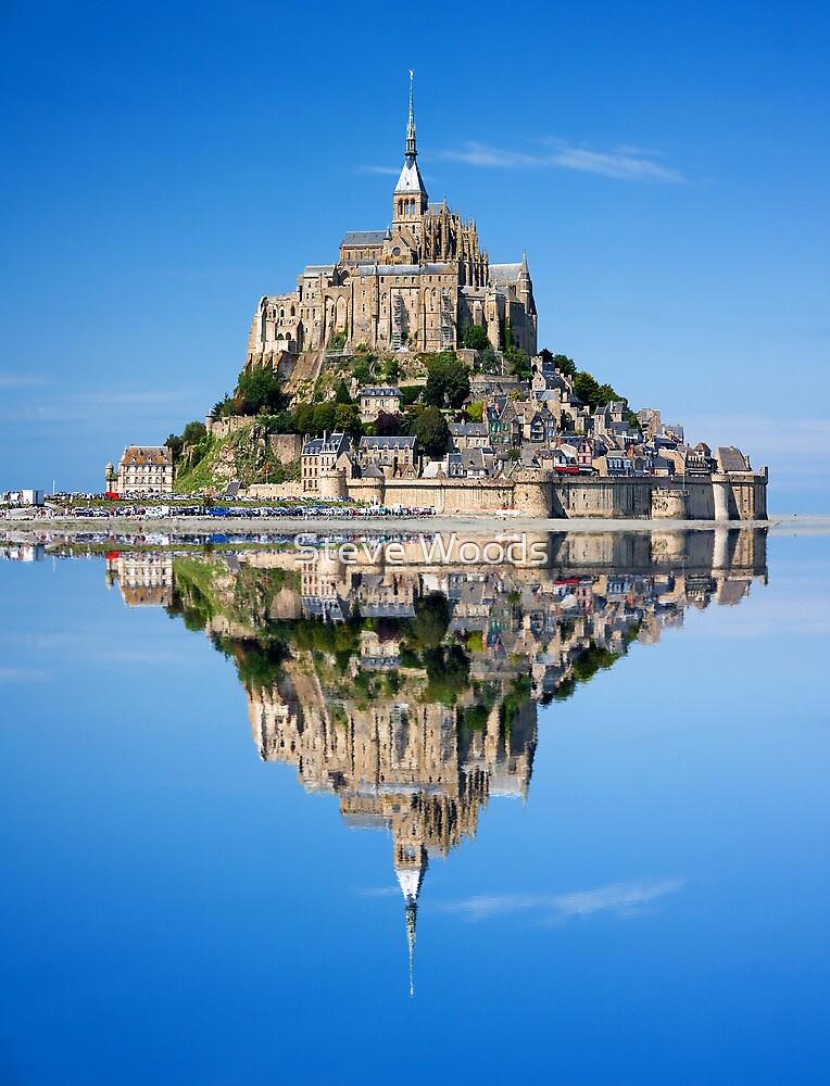 Mont St Michel by Steve Woods