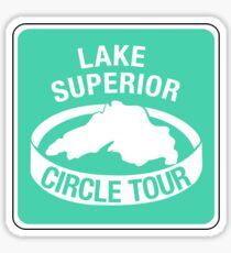 Lake Superior Circle Tour, Traffic Sign Sticker