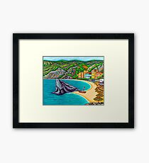 Colours of Monterosso Framed Print