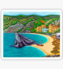 Colours of Monterosso Sticker