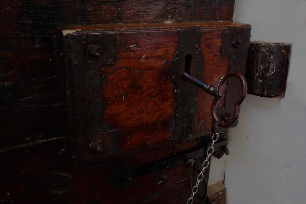 St Mary, Langley Marish - Big Key Big Door by Dave Godden