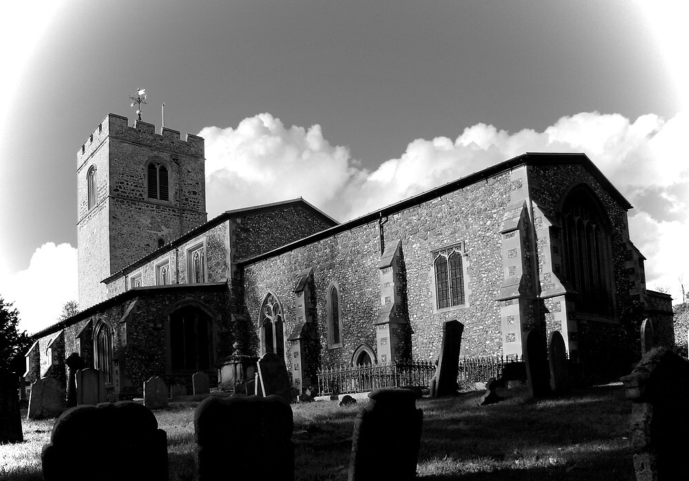 St Peter's Church, Iver. by Dave Godden